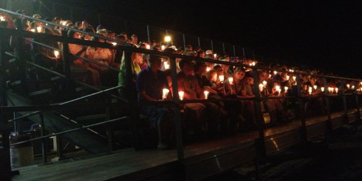 Candlelight vigil held as search for Procell continues