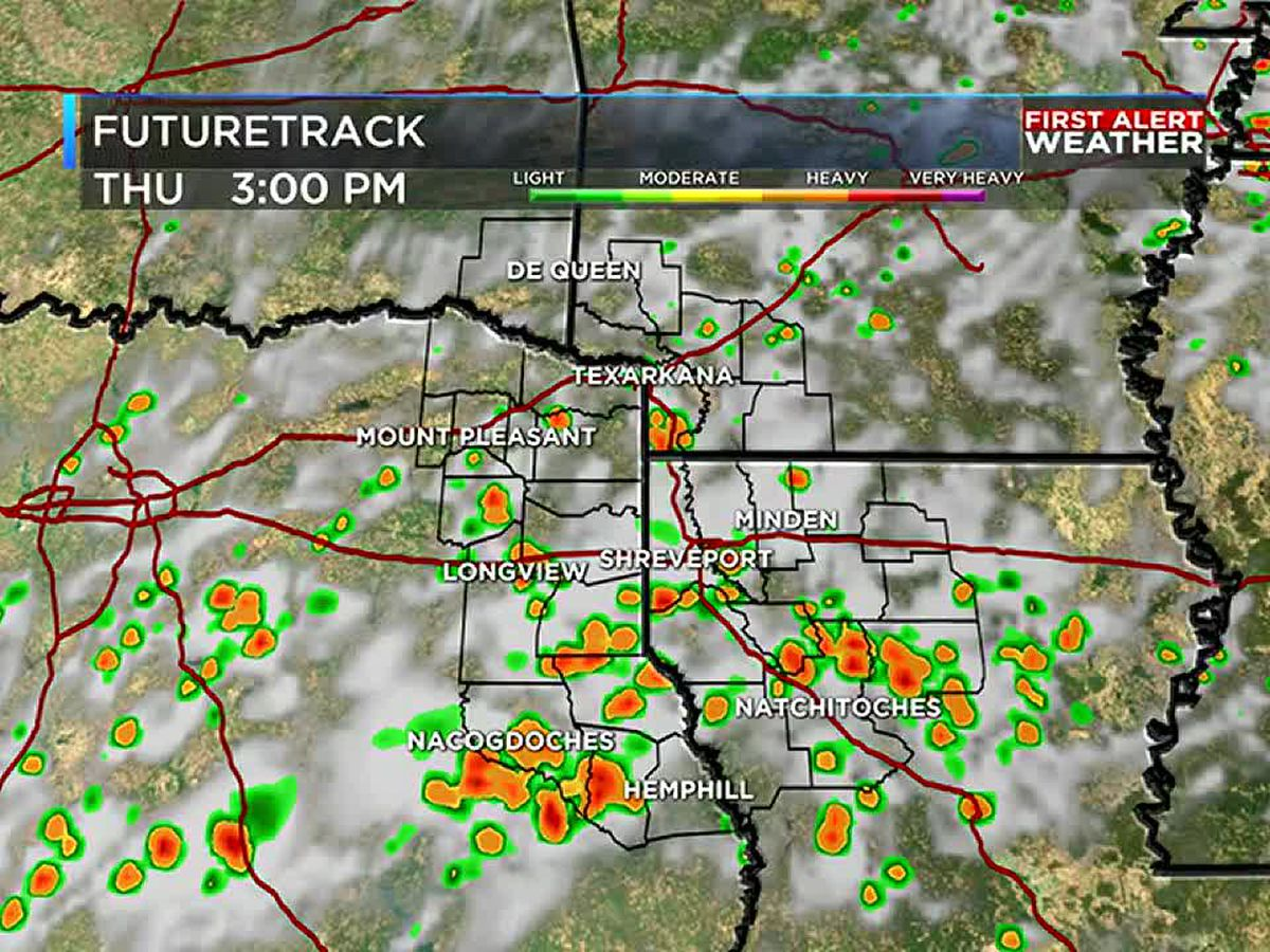 FIRST ALERT: Storms and heat for the 4th of July weekend
