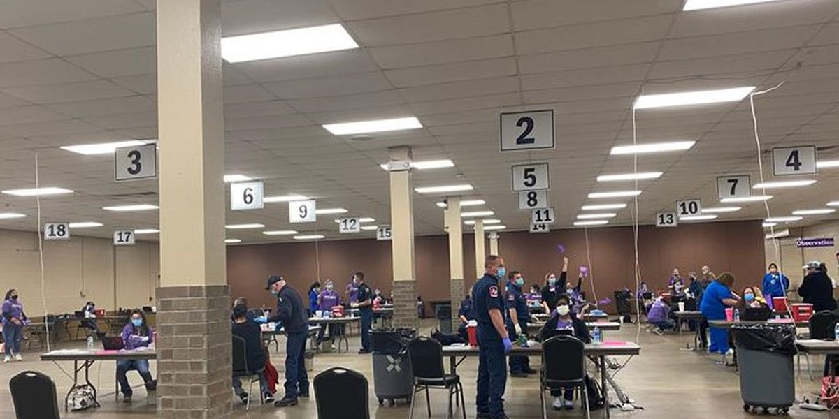 CHRISTUS Good Shepherd Health System hosts first vaccination clinic in Longview, TX