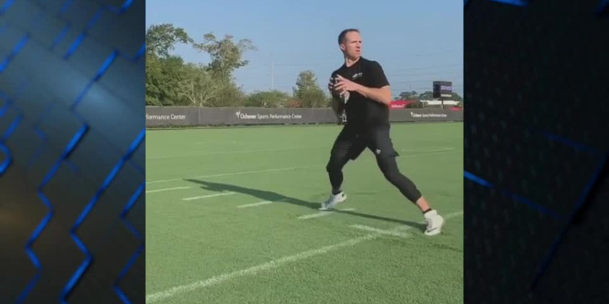 'Shhhh': Drew Brees posts Instagram video of him throwing a football