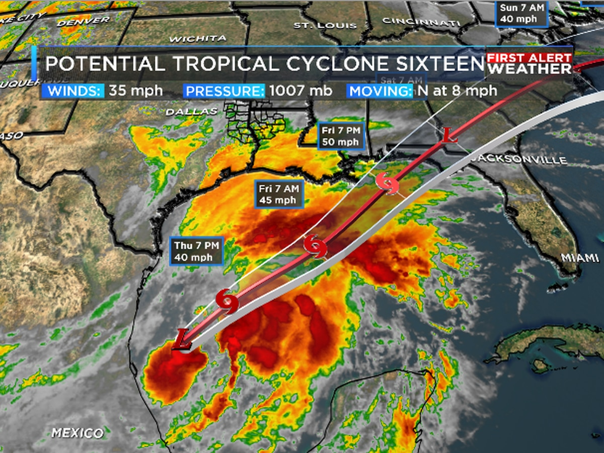 Tropical development expected in the Gulf of Mexico