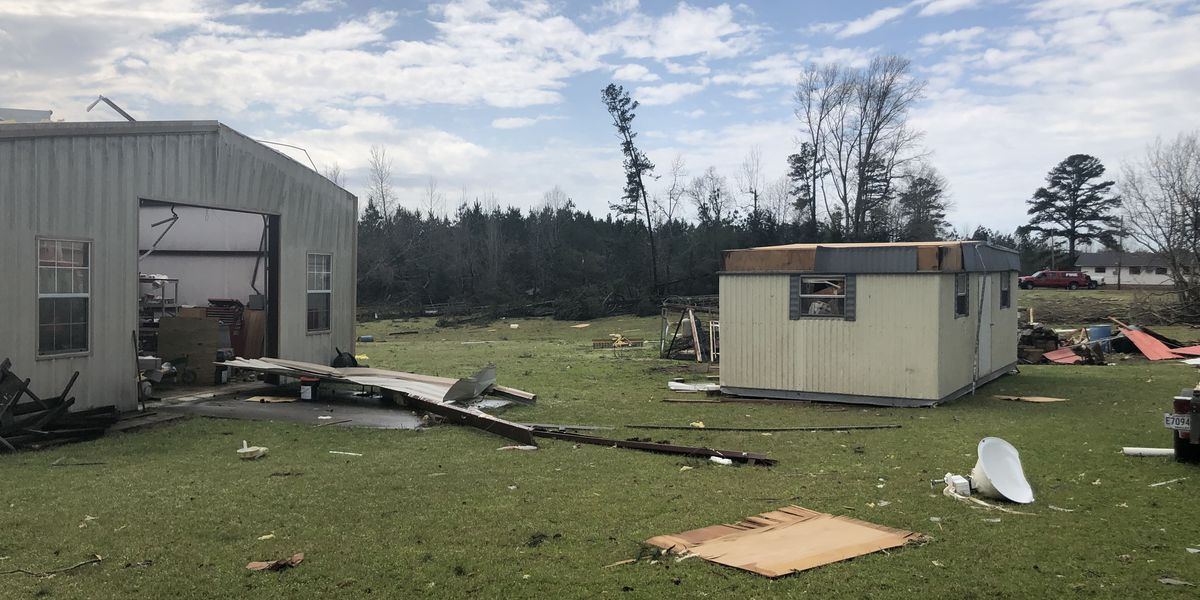 National Weather Service confirms EF-1 tornado in Springhill, LA