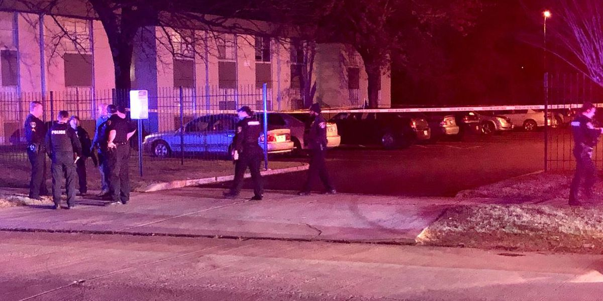 Child in car when driver is shot