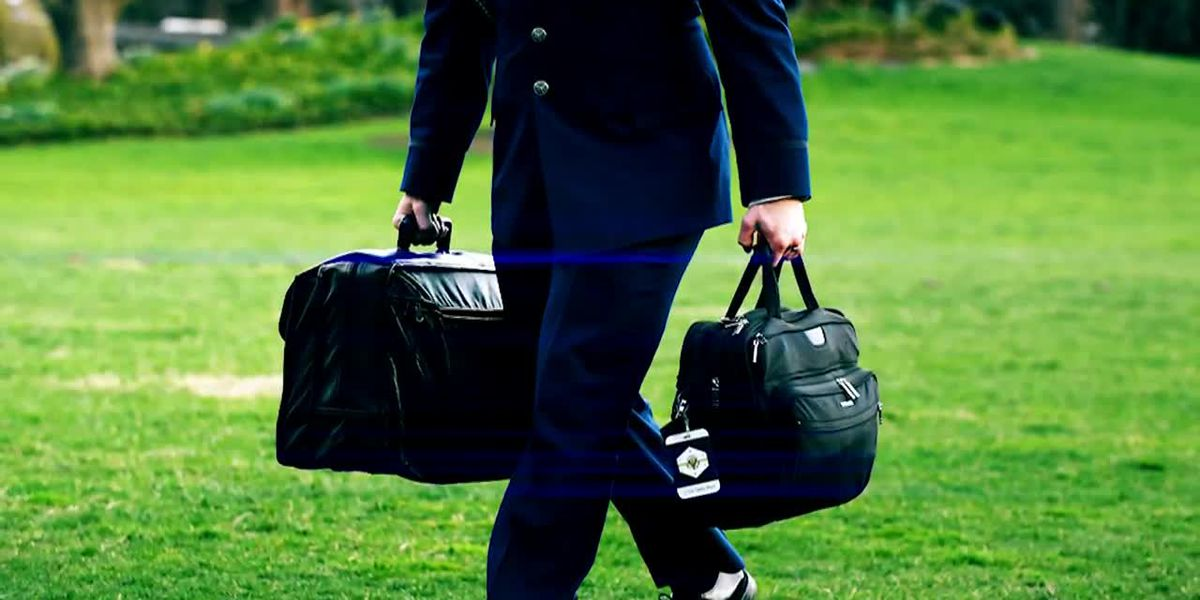 How Trump will hand off 'nuclear football' to Biden