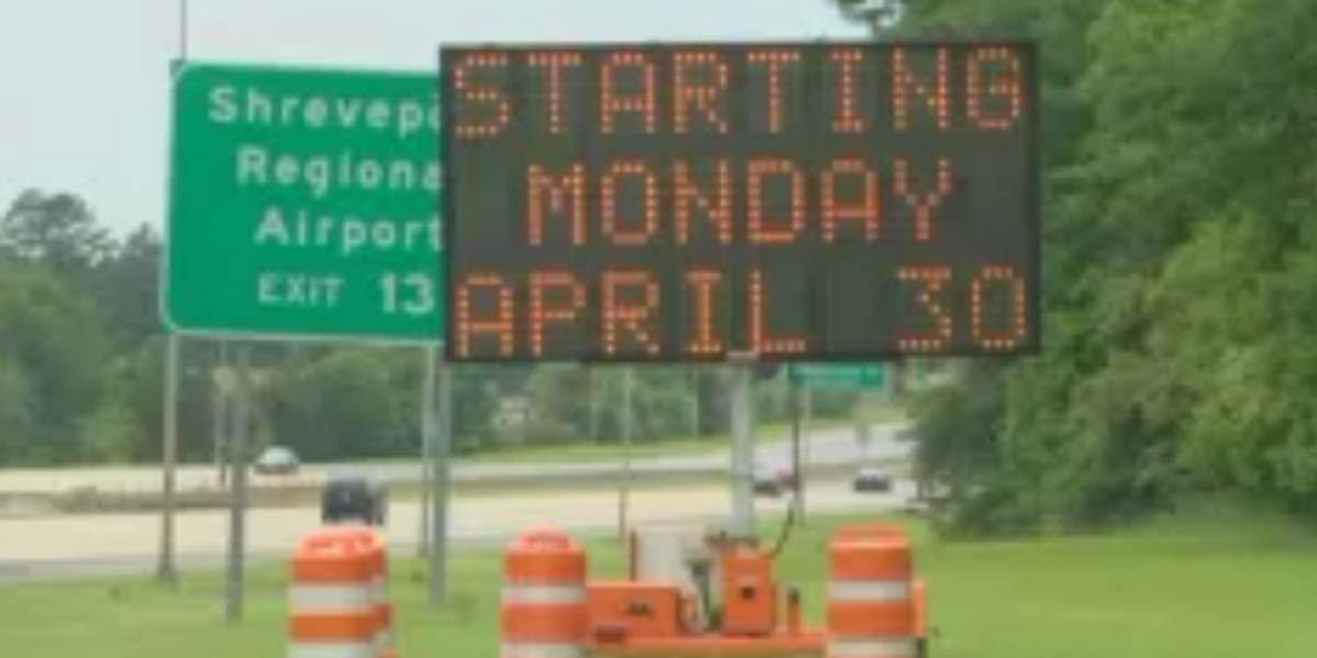 Construction set for 13 mile stretch of I-20
