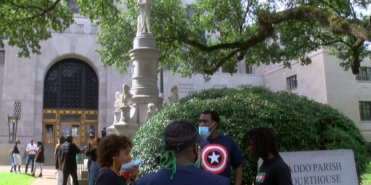 Emotions run high on fate of Confederate monument in Shreveport