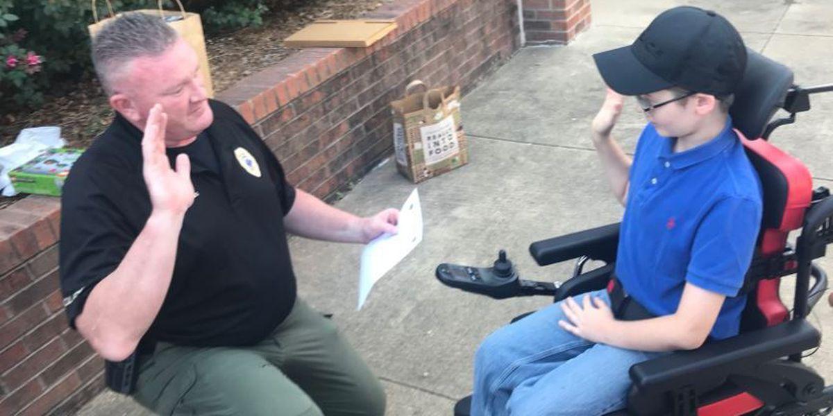 10-year-old named as Junior BCPD K-9 officer