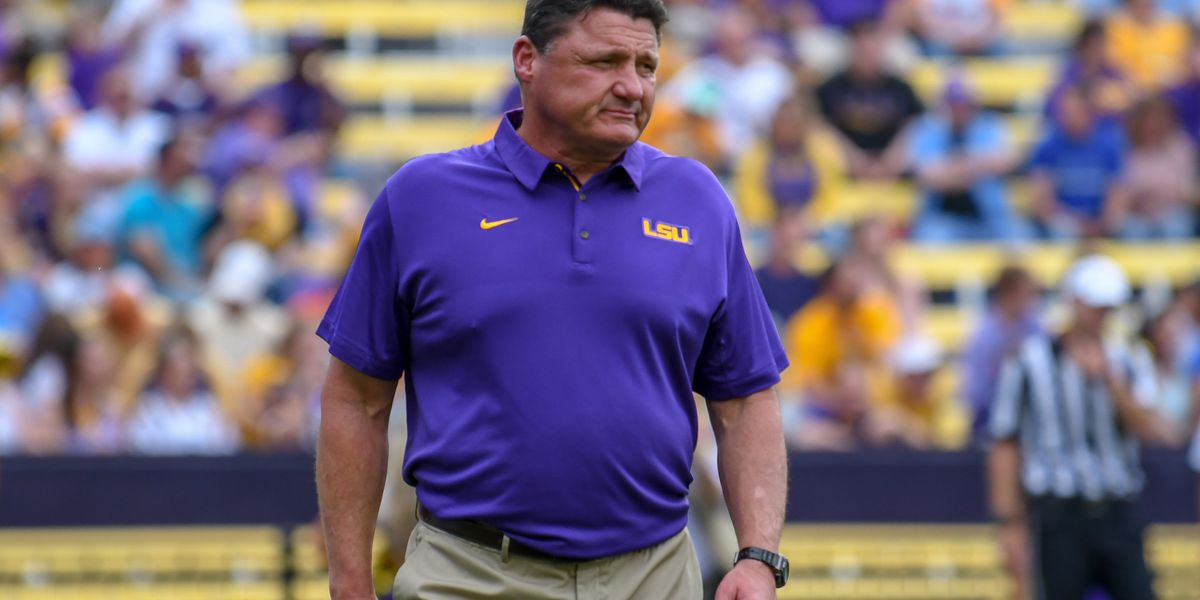 LSU begins spring football practices