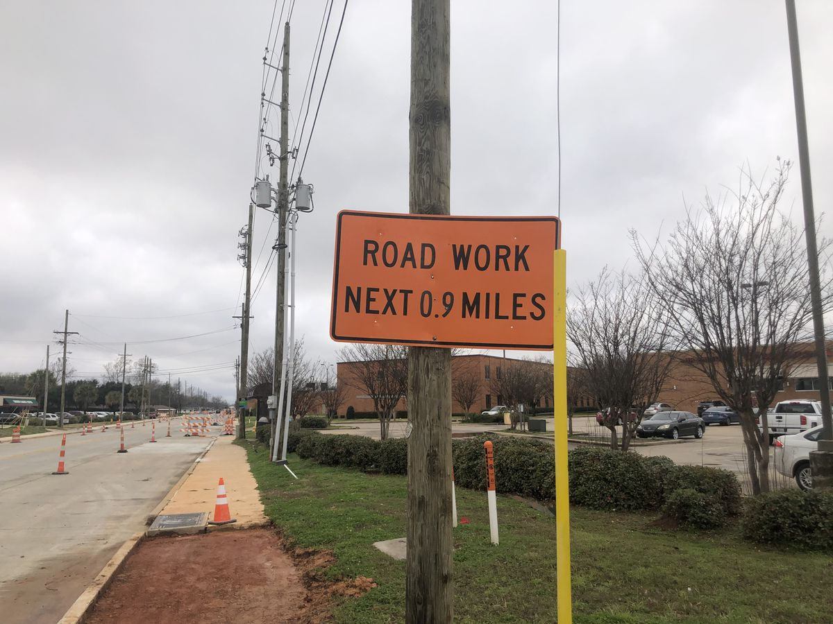 Shed Road construction close to completion in Bossier City