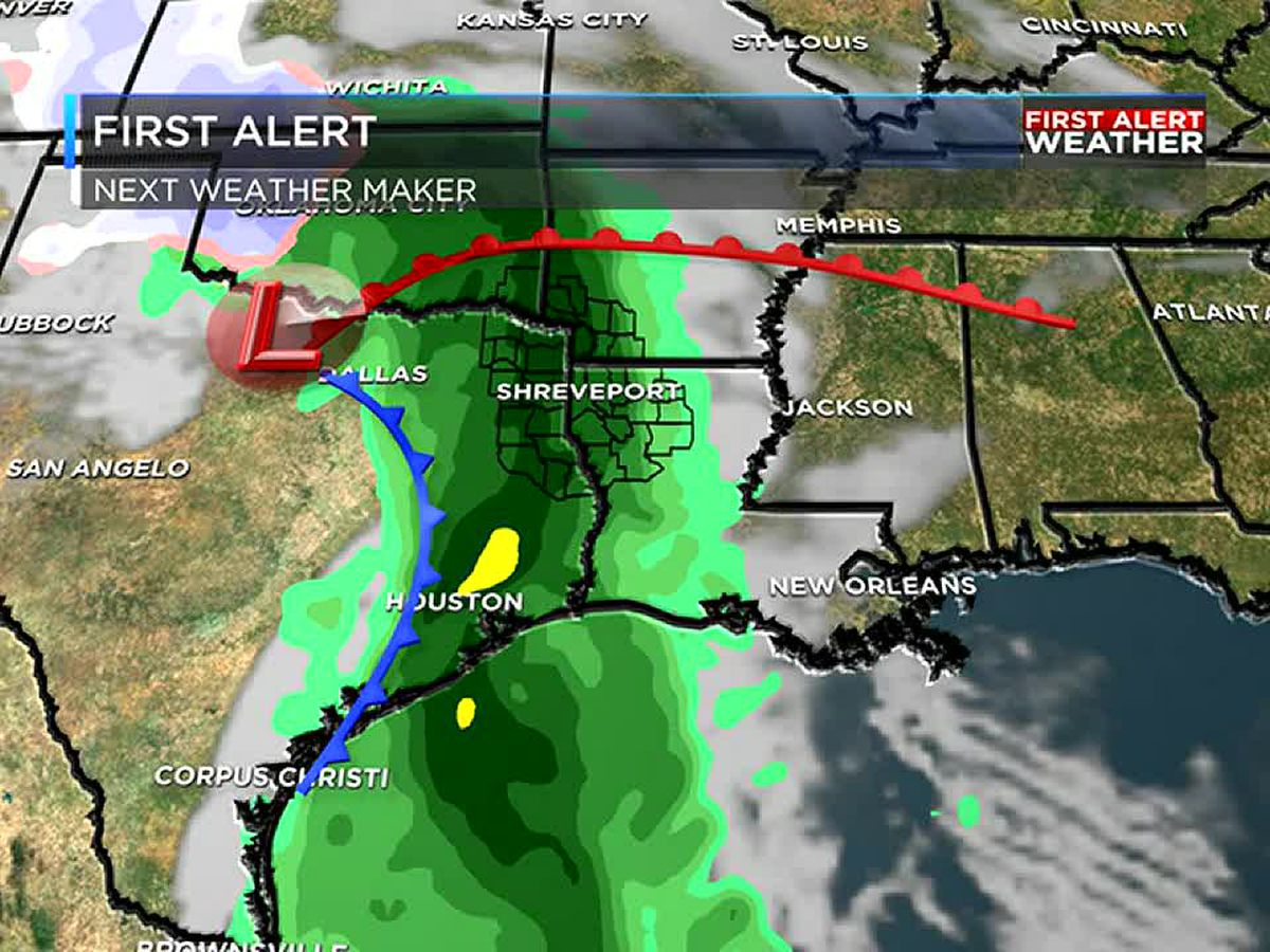 Rain moves in Wednesday, then dry to end the week