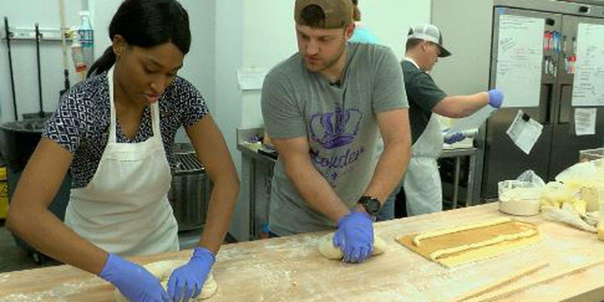 Maranda at Work: Making King Cakes