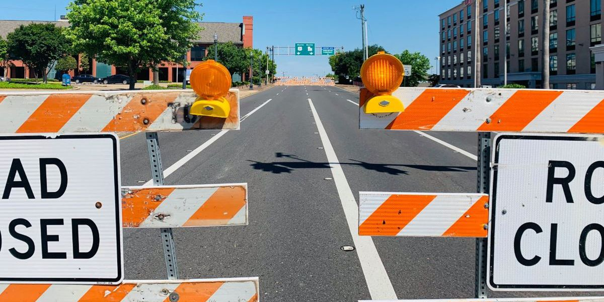 FIRST ALERT TRAFFIC: Road closures/lane shifts in the ArkLaTex