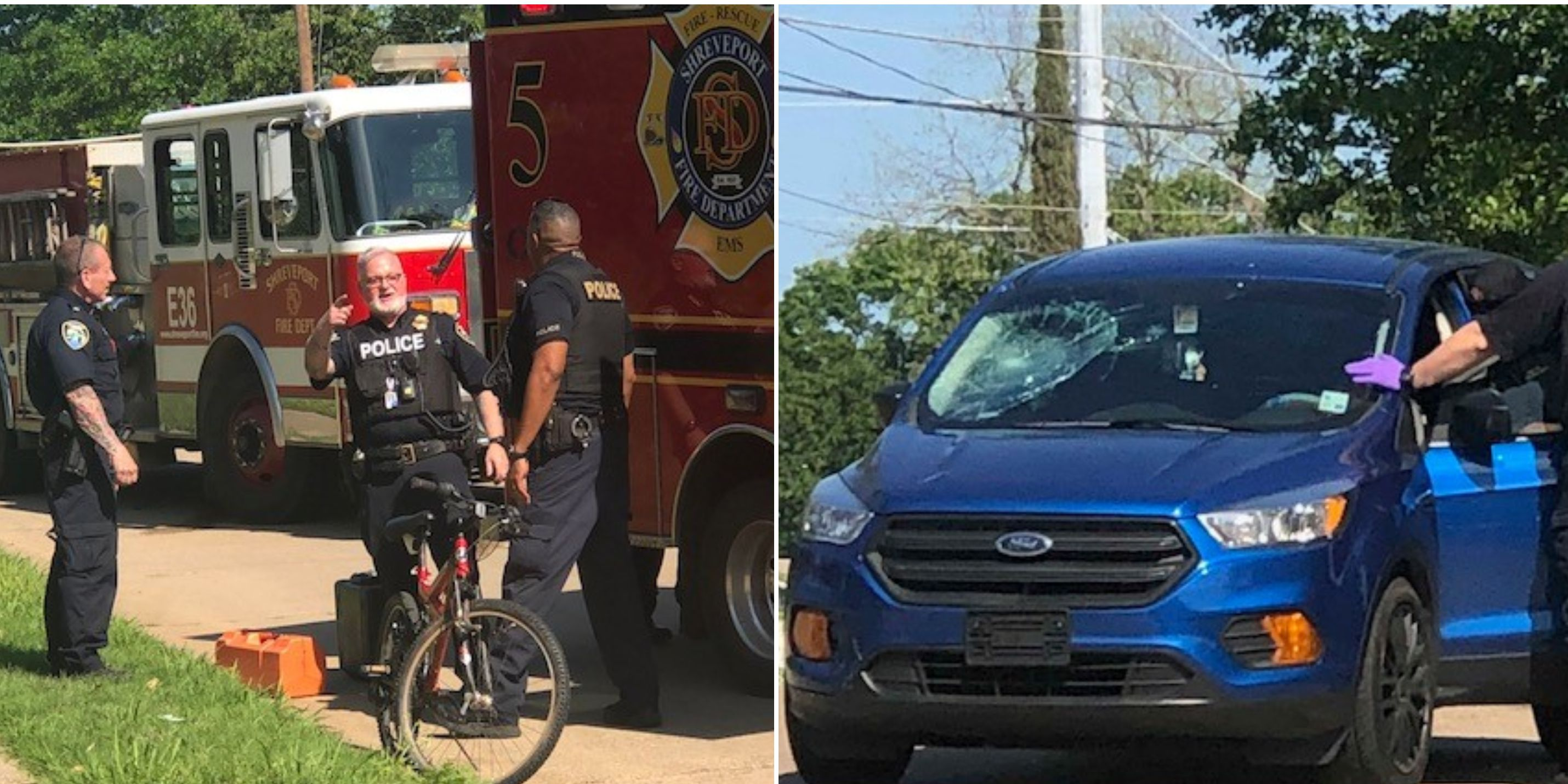 Bicyclist hurt in collision with SUV