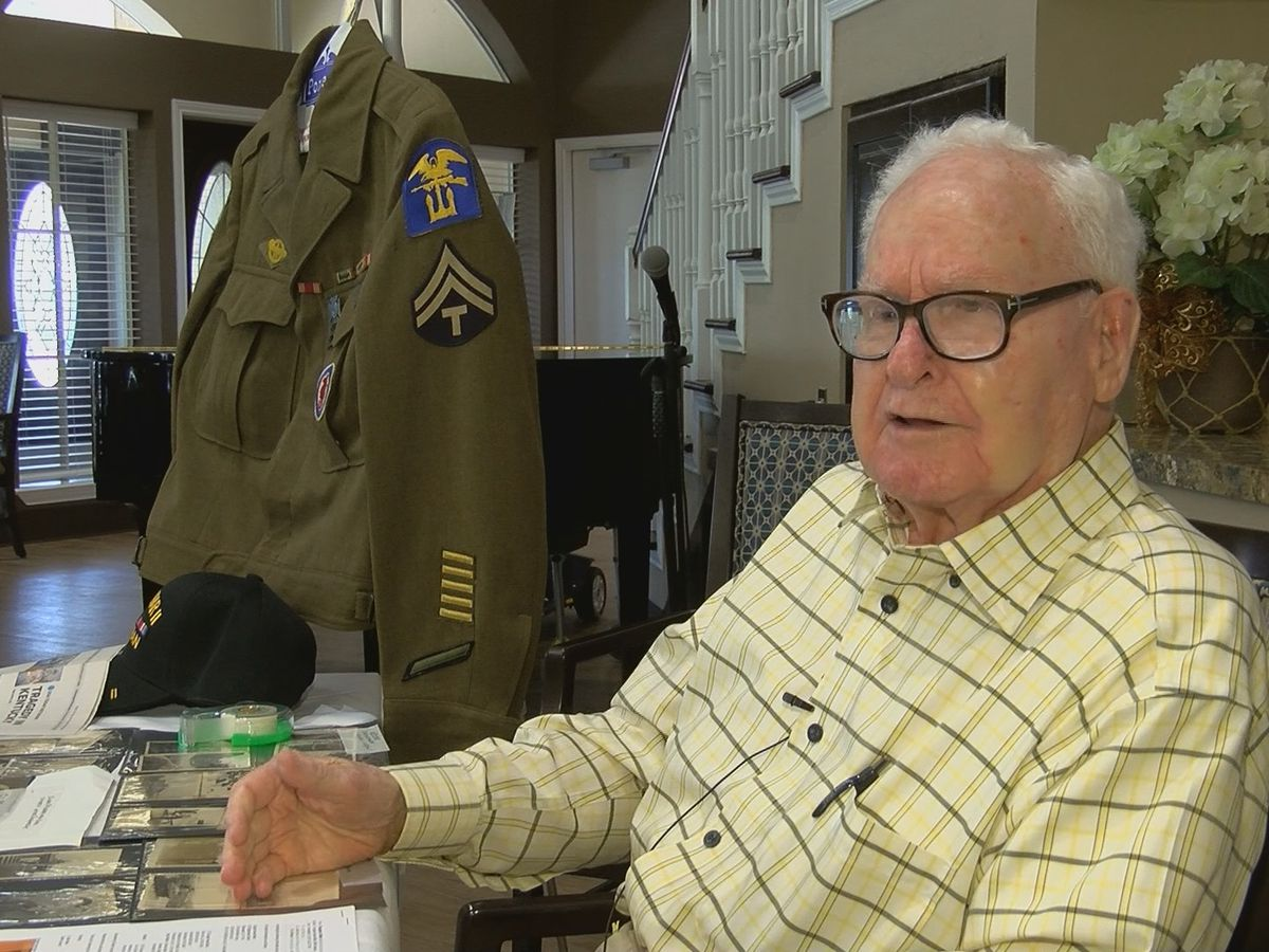 KSLA Salutes: Vet recalls storming the beaches of Normandy