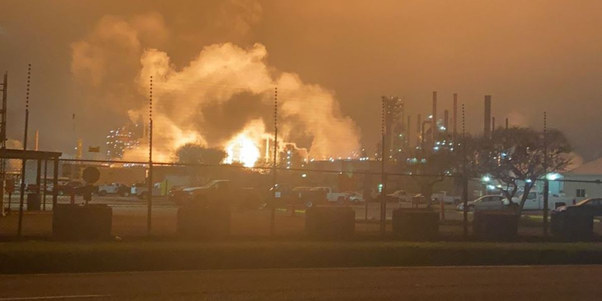 No injuries, off-site impact after significant fire at ExxonMobil refinery