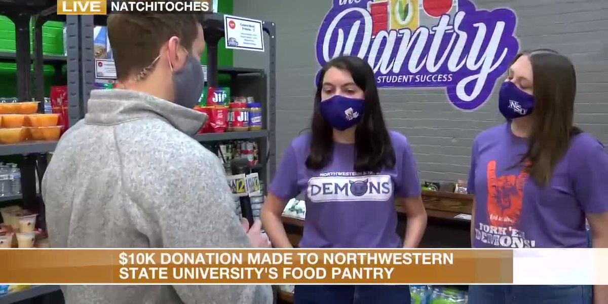 Thousands donated to NSU food pantry