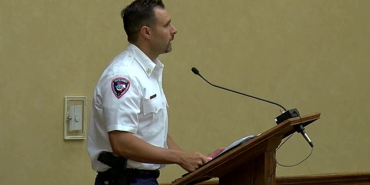 Smith County fire marshal gives update on dry conditions; no burn ban issued