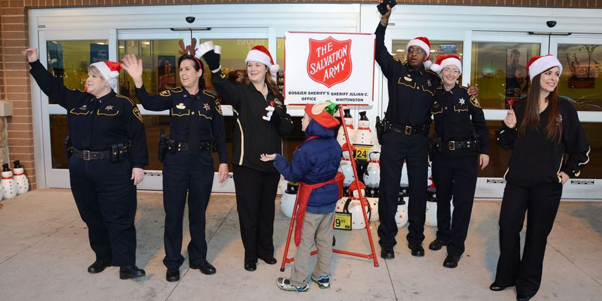 NWLA sheriff's offices battle in Red Kettle Challenge