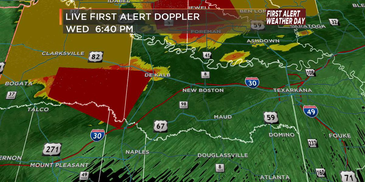 First Alert Weather Day: ENHANCED risk of severe weather Wednesday night