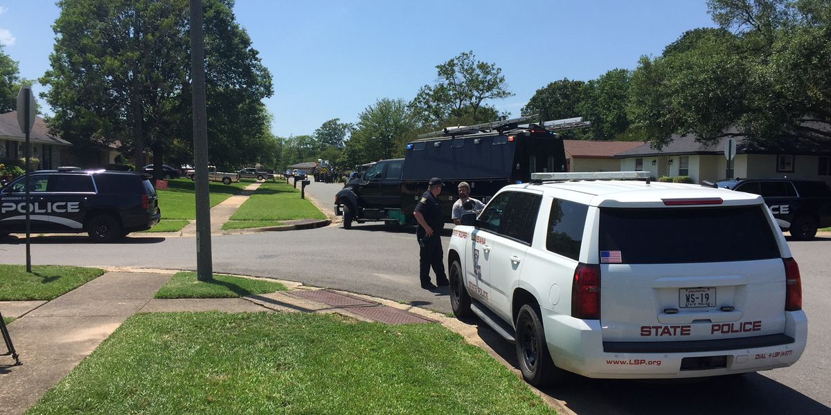 Standoff in Bossier City ends with man's arrest