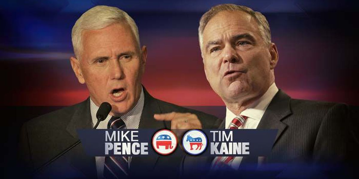 Live: Vice presidential debate between Tim Kaine and Mike Pence