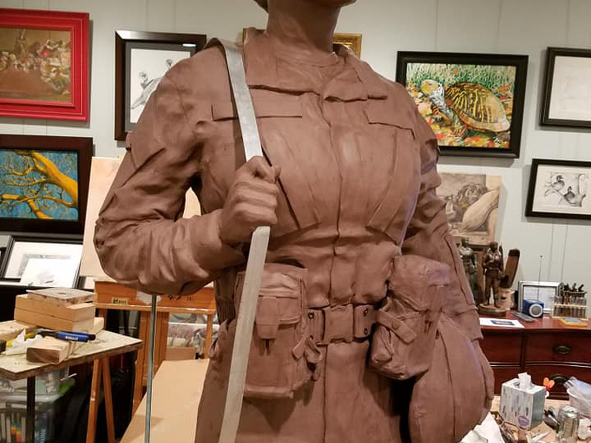 KSLA Salutes: From clay to bronze