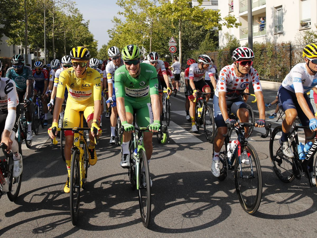 Pogacar riding to victory at COVID-defying Tour de France