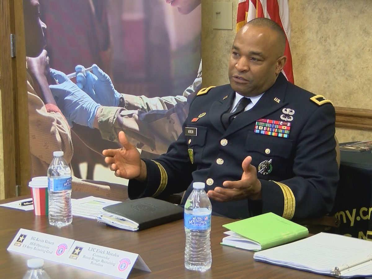 U.S. Army looking at Shreveport for new recruits