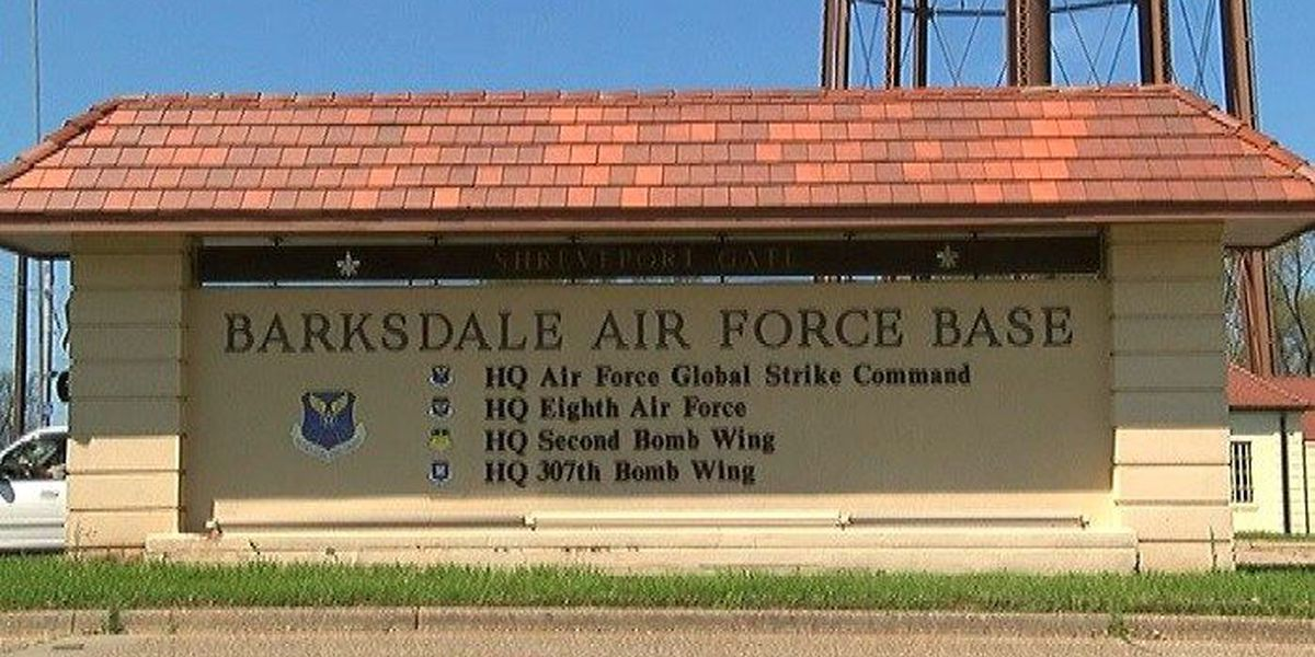 Smoke reportedly seen as F-18 makes emergency landing at BAFB