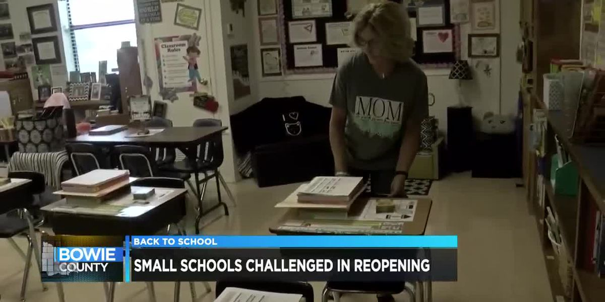 Small school districts challenged in reopening under same standards as larger districts