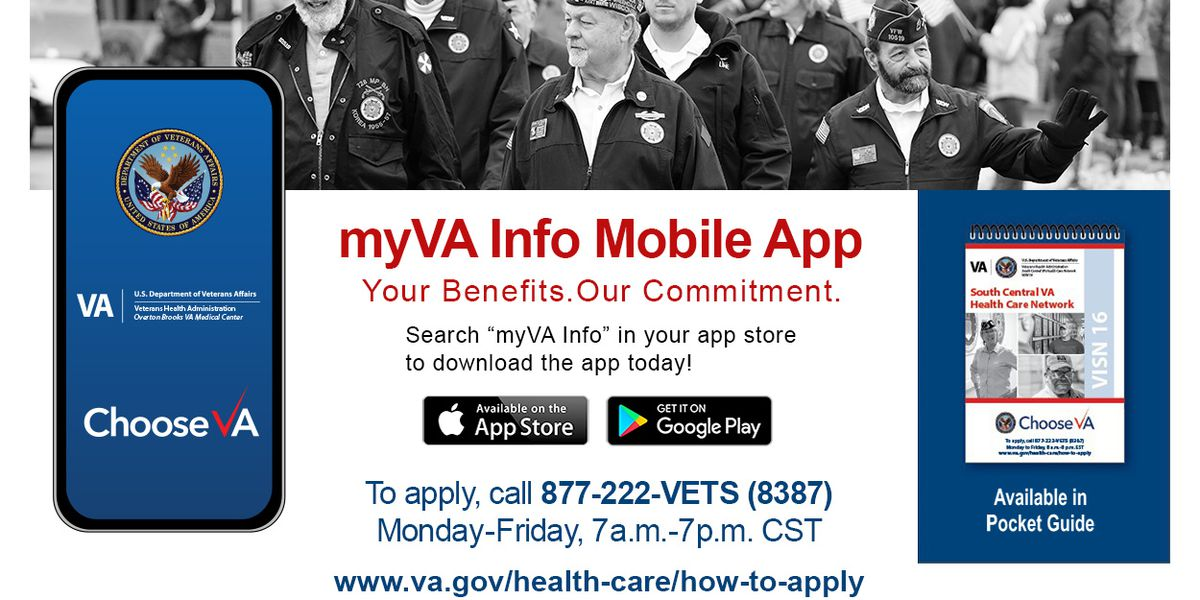 Shreveport VA launches new mobile app for veterans