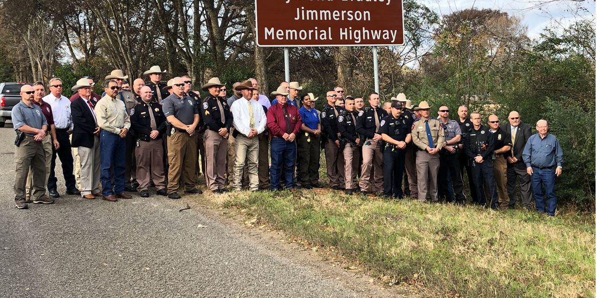 Nacogdoches Police Department honors three officers who died on duty