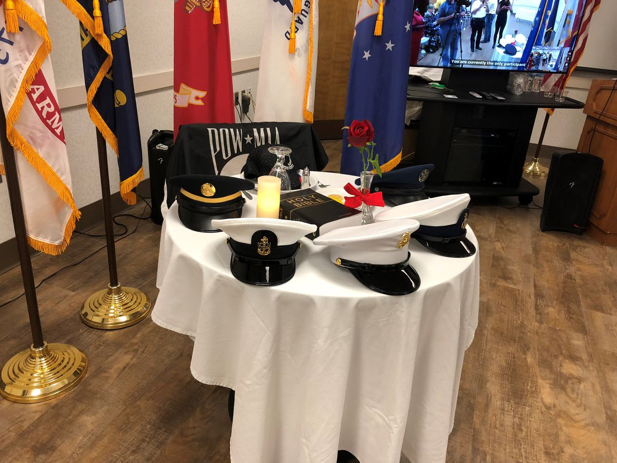 Overton Brooks VA honors POW/MIA with remembrance ceremony