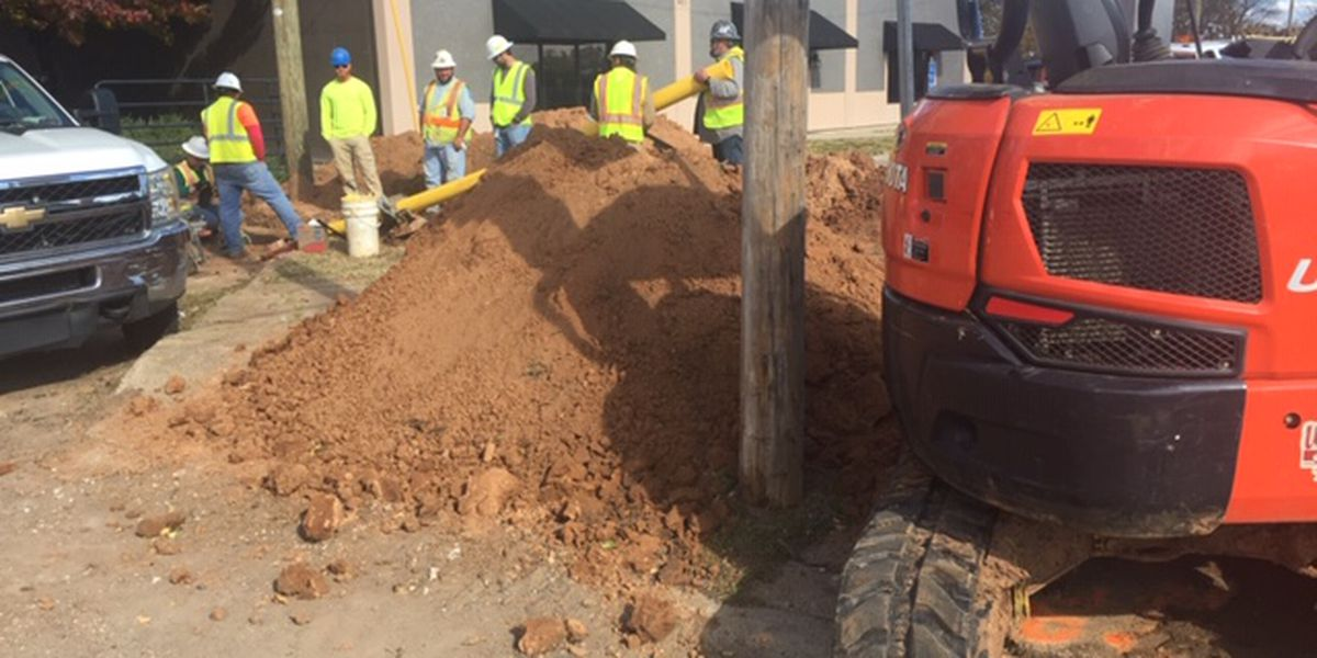 First signs of Bossier City's Northern Parkway Extension visible