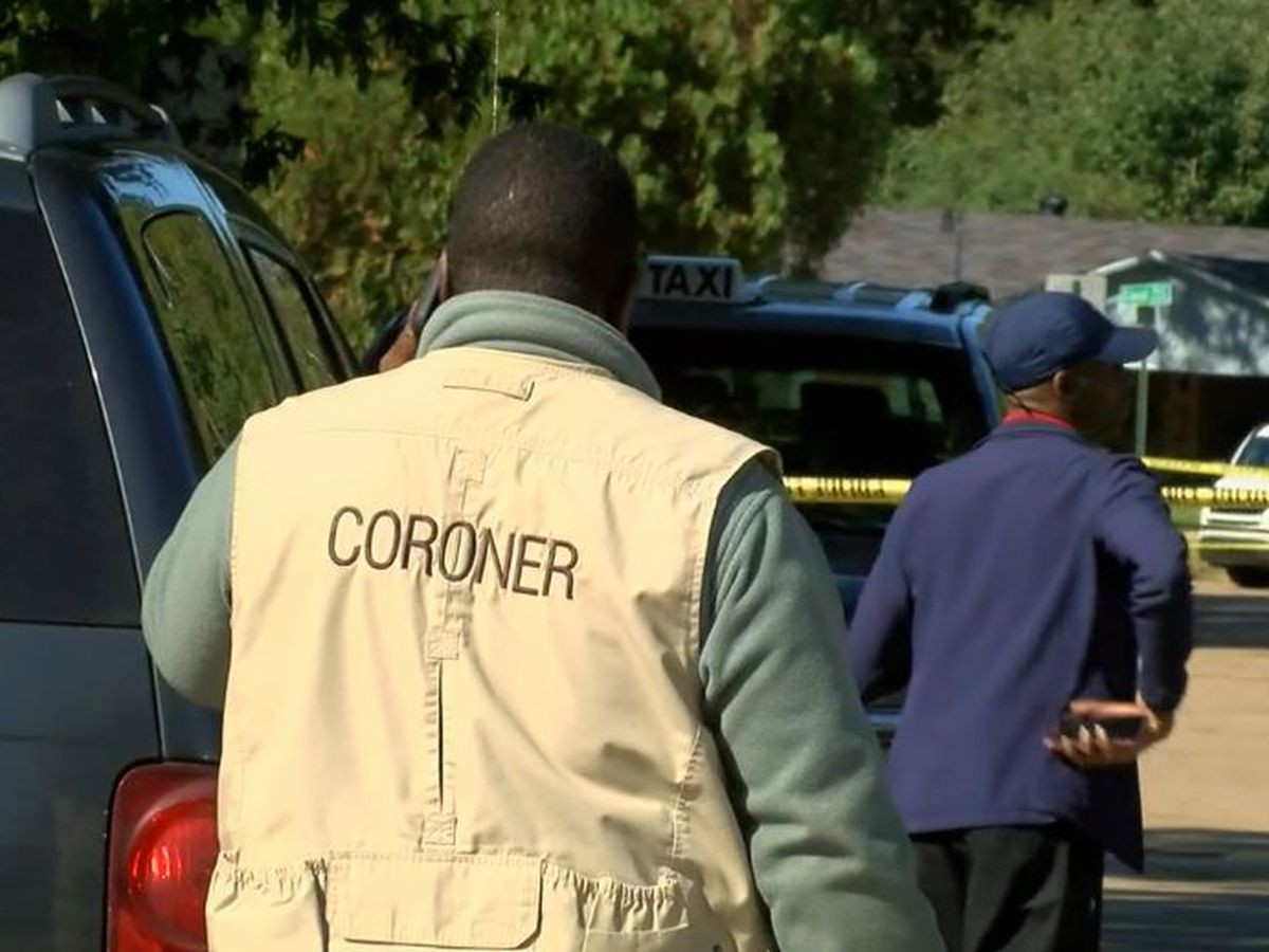 Coroner IDs 2 men found shot dead in bullet-riddled van