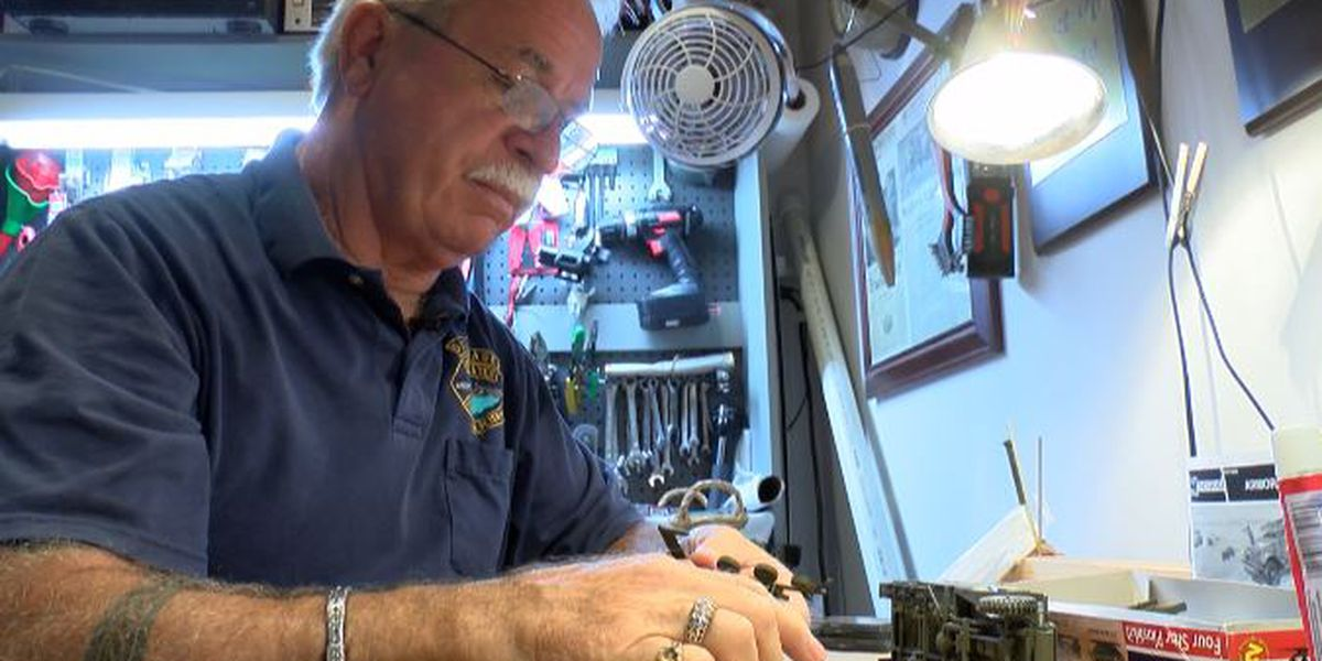 KSLA Salutes: Navy veteran builds custom models for veterans