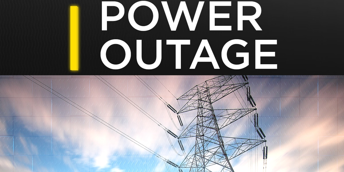 Over 2,000 without power in Northwest Louisiana