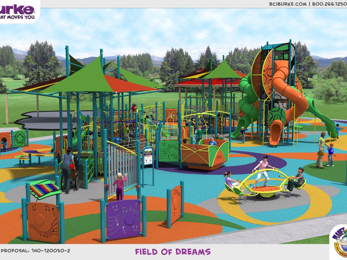 Field of Dreams park undergoing renovations
