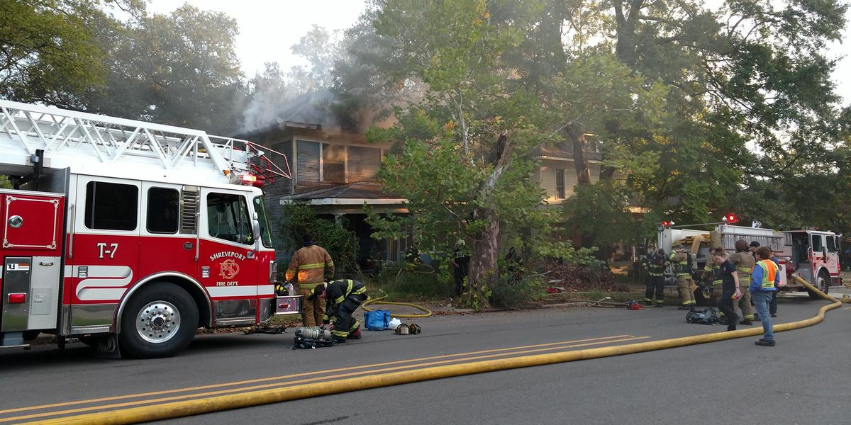Crews fighting fire in Highland neighborhood
