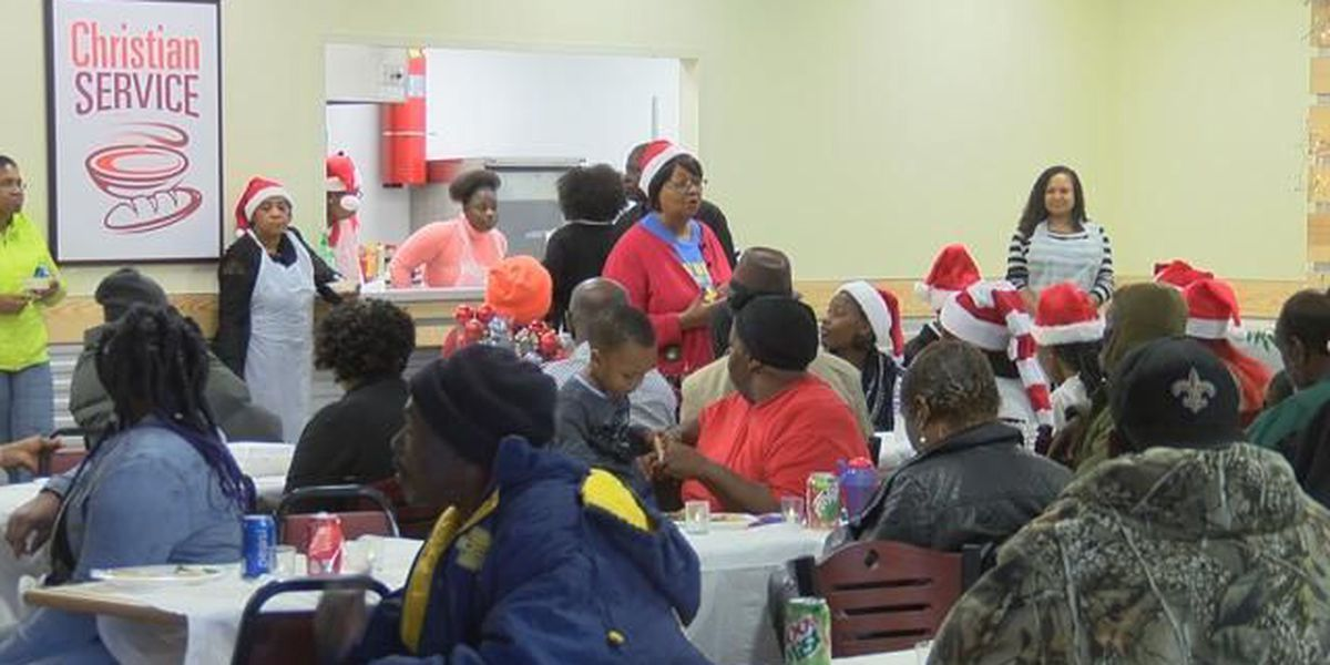 Church, Christian Service hold their first Christmas dinner in Christian Service's new facility
