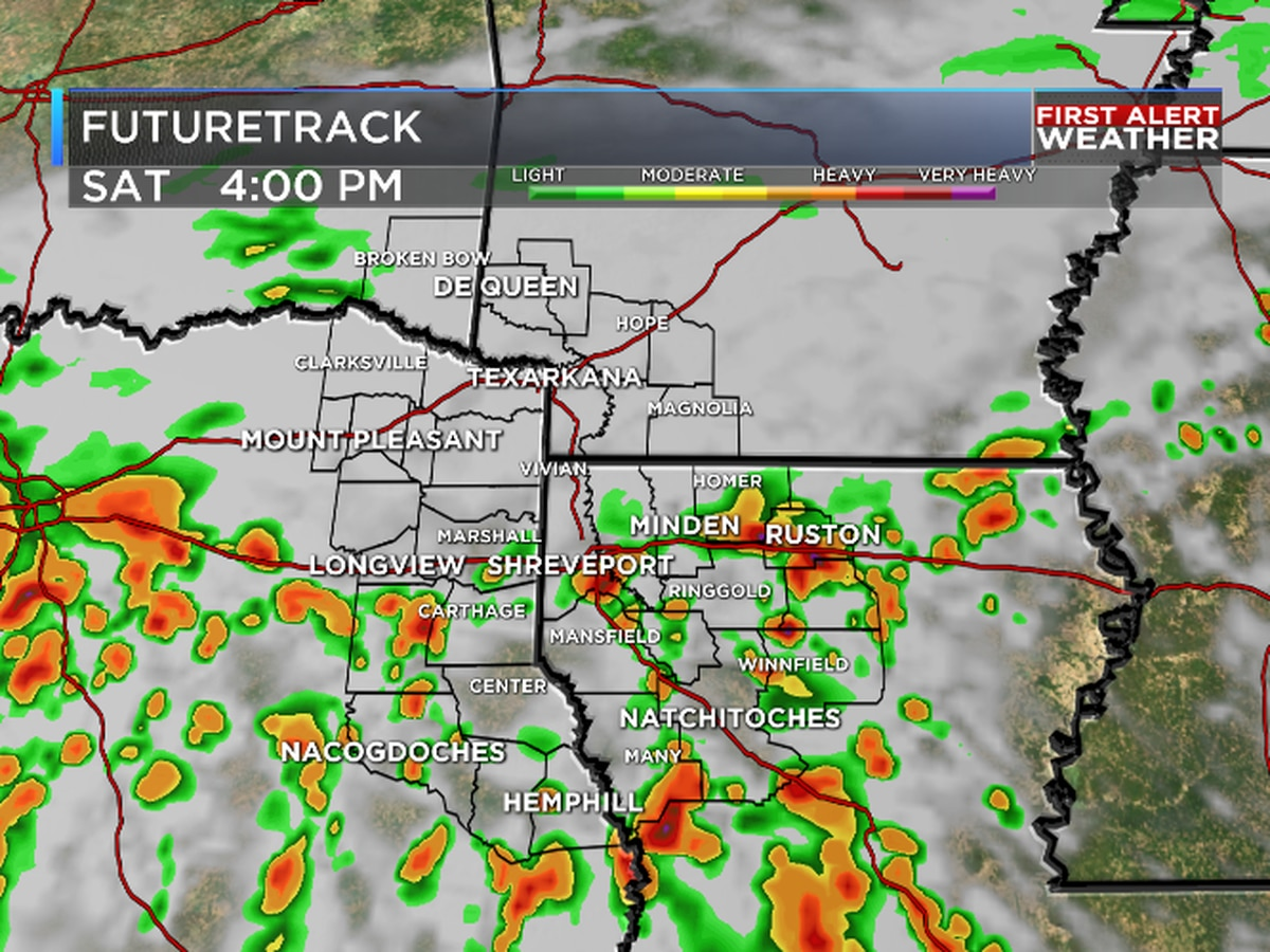 FIRST ALERT: Rain could dampen your weekend plans