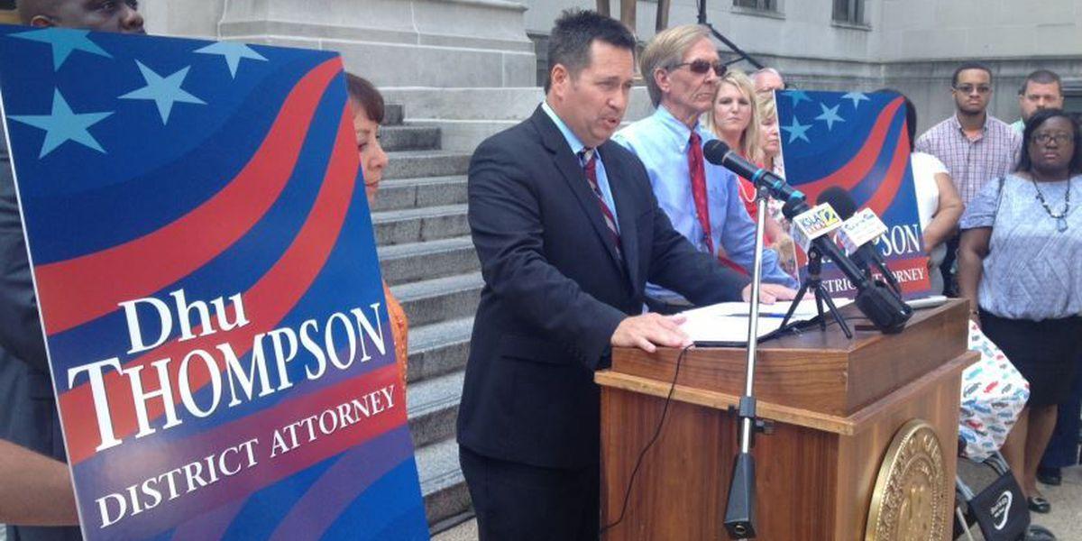 Dhu Thompson announces run for Caddo District Attorney