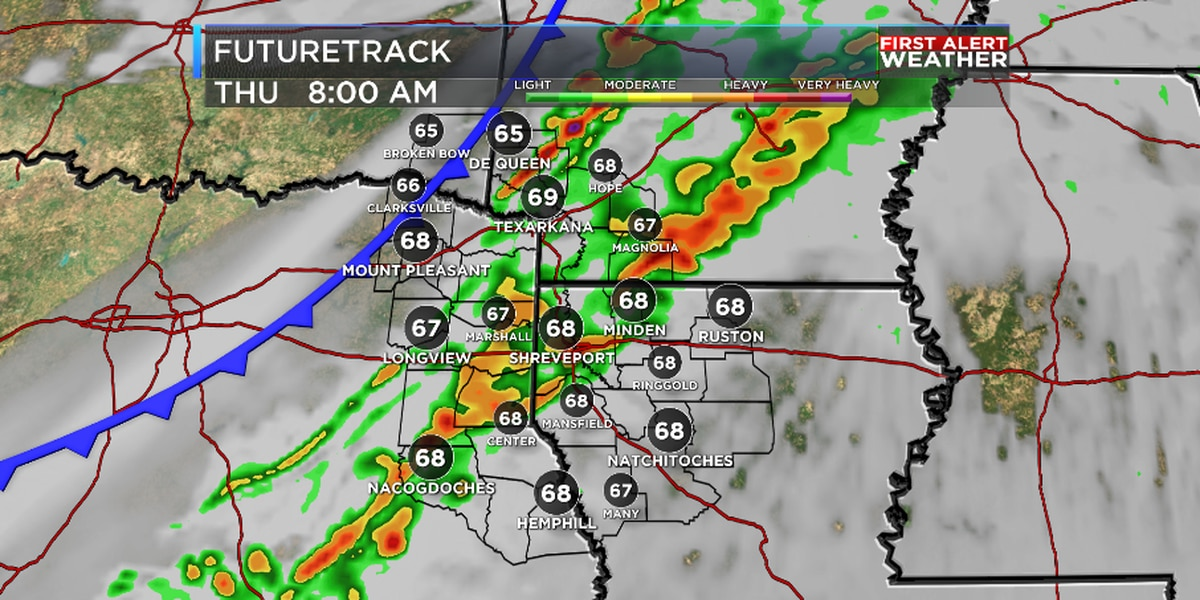 FIRST ALERT: Strong cold front arrives Thurday