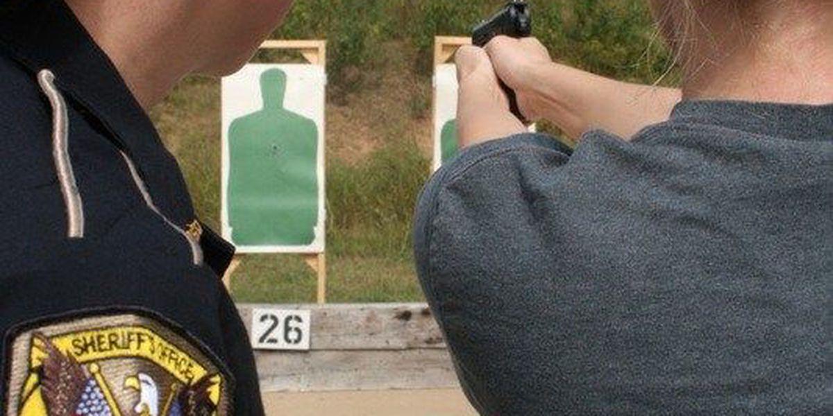 Caddo Sheriff hosts women's firearm training, personal safety class