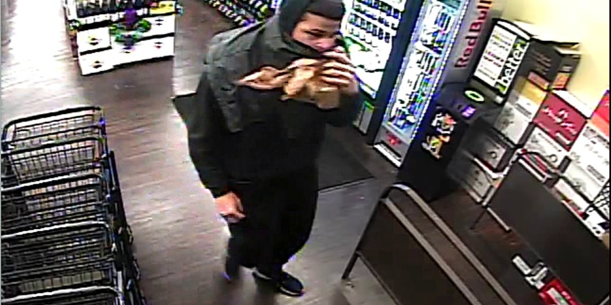 Male robs Albertsons on Southfield; SPD investigates