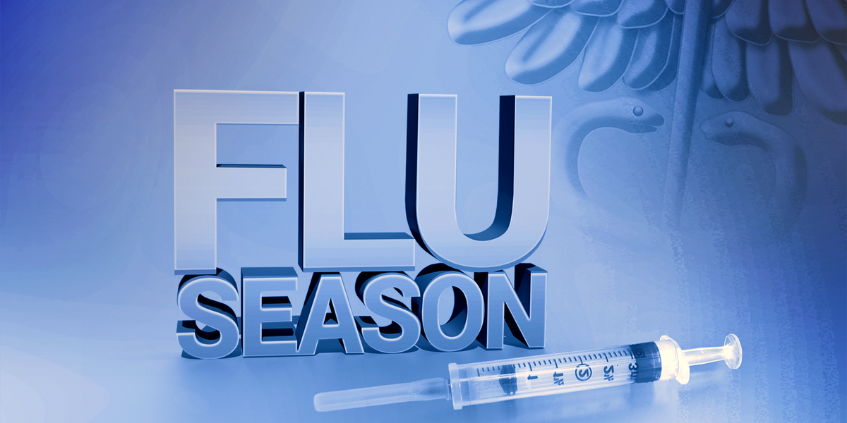Fewer people getting flu shots, fewer influenza cases so far this season