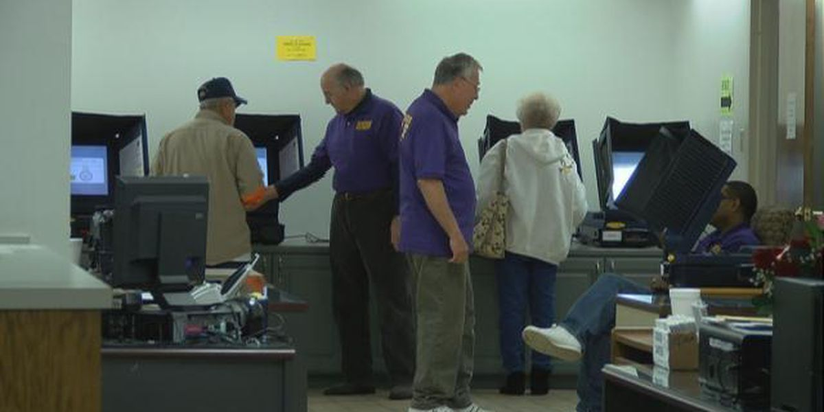 Caddo Parish early votes surpass 2014 totals