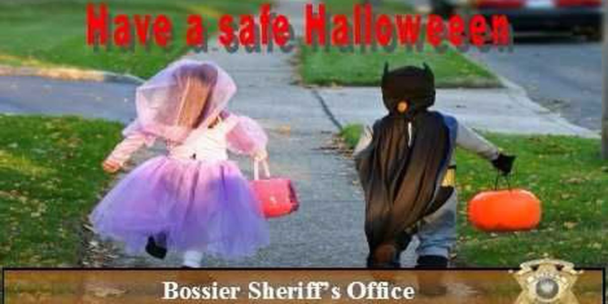 Bossier Parish Sheriff's Office offers Halloween safety tips