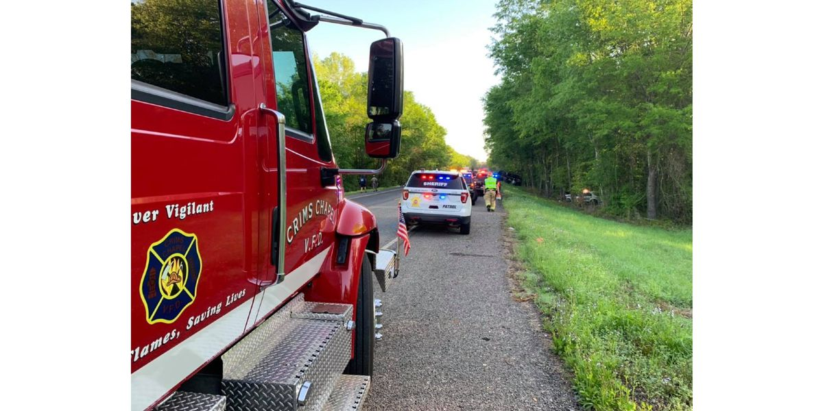 Rusk County Sheriff's Office patrol unit involved in crash