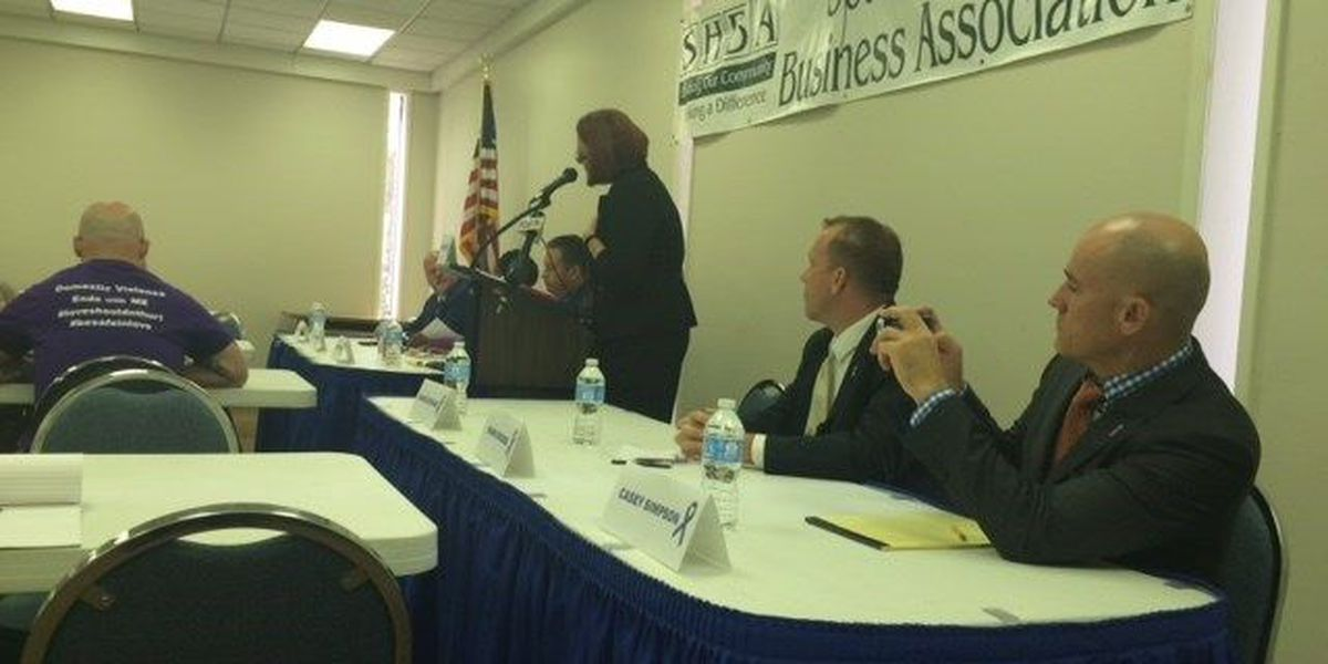 Domestic violence a big issue in Caddo D.A. race